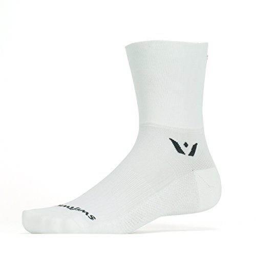 Swiftwick - PERFORMANCE FOUR, Quarter-Crew Socks for Cycling and Trail Running