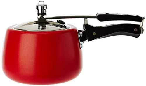Hawkins Ceramic CTR30 CTR 30 Coated Contura Pressure Cooker, 3 L, Red