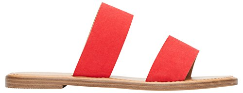 Rohb by Joyce Azria Casablanca Sandal (Red) Size 9 (Slip Sandals Suede)