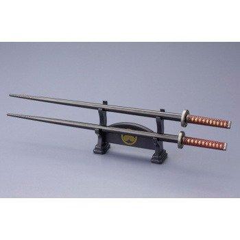 Tsuba Display - Kotobukiya Sakon Shima Samurai Chopsticks