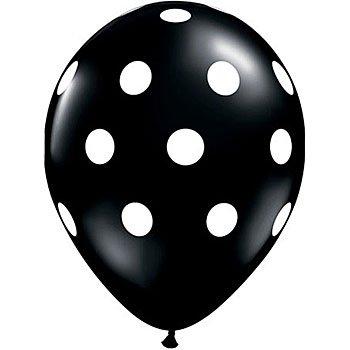 12 Black and White Polka Dot Balloons!, Health Care Stuffs