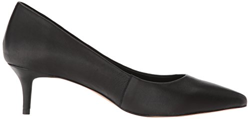Steve Madden Women's Kava Pump Black Leather W6KNY