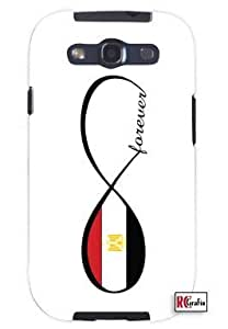 Cool Painting Egyptian Forever Infinity Flag Egypt Unique Quality Soft Rubber Case for Samsung Galaxy S4 I9500 - White Case