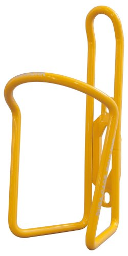 Cage Bottle Minoura - Minoura AB-100-5.5 Powder Coated Water Bottle Cage, Energy Yellow, 5.5mm