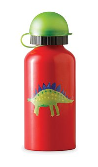 Crocodile Creek DINOSAUR dino STAINLESS STEEL eco kids WATER bottle safe