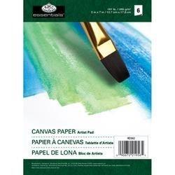 Bulk Buy: Royal Brush Canvas Paper Pad 5''X7'' 6pgs/Pkg RD362 (6-Pack) by Royal & Langnickel