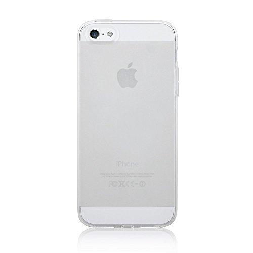 4 opinioni per NOVAGO Custodia in TPU trasparente e resistente per iPhone 5 / 5S /SE Flexible