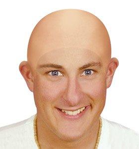 aeropost com costa rica bald head rubber realistic fancy dress