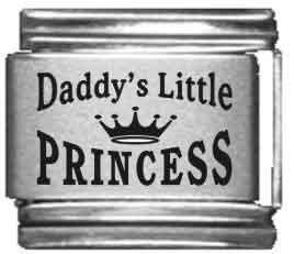 - Daddy's Little Princess Italian Charm