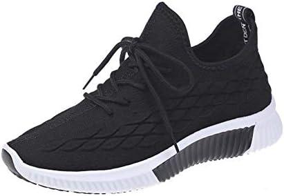 SHOES-HY Zapatos de Mujer, 2019 Zapatillas de Running Transpirables de Malla de Punto Nuevas Zapatillas de Deporte Ligeras y cómodas Zapatillas de Viaje,Negro,36: Amazon.es: Jardín
