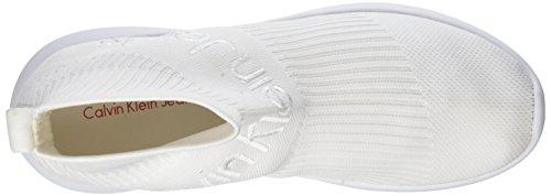 Weiß Brogues Knit Melita 000 Calvin Damen Wht Jeans Klein xwUq77gY