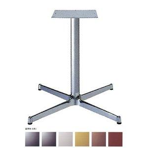 e-kanamono テーブル脚 SBL2900 ベース640x640 パイプ60.5φ 受座300x300 アルミクローム/塗装パイプ AJ付 高さ700mmまで ゴールドメタリック B012CFA8AM ゴールドメタリック ゴールドメタリック