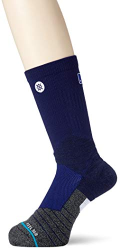 - Stance Mens Mlb Diamond Pro Primary Crew Socks Navy L