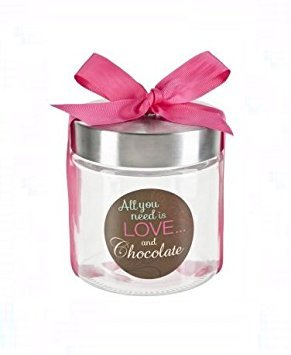 Ganz Contemporary Canister All You need Is Love and Chocolate