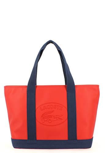 Nf2416wm shopping Borsa b66 rossa Bag Lacoste 7Rq4x