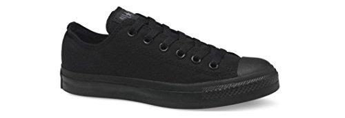 Samtala Unisex Kastar Taylor All Låg Topp Svarta Monokroma Sneakers - 8 Män 10 Kvinnor