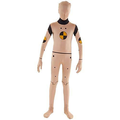 Morphsuits Kids Crash Test Dummy Fancy Dress Costume - Size Large 4'0