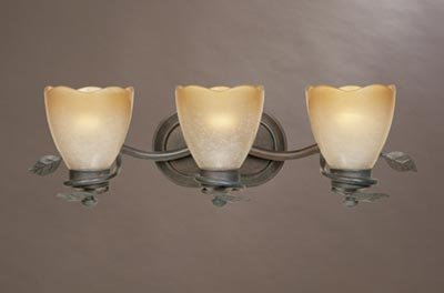 Designers Fountain 95603-OB Timberline 3-Light Bath Bar, Old Bronze by Designers Fountain