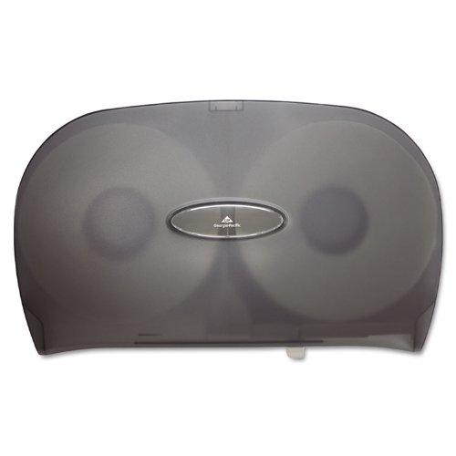 GPC59209 - Jumbo Jr. Two-roll Bathroom Tissue Dispenser, 20 X 5 3/5 X 12 1/4, Smoke