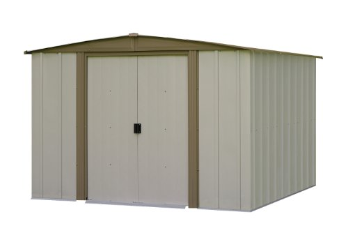 Arrow Bedford BD Steel Storage Shed, 8 by 8-Feet
