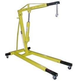 Vestil EHN-40-T Heavy Duty Steel Shop Crane Engine Hoist with Telescopic Legs 4000 lbs Capacity (Telescopic Legs)