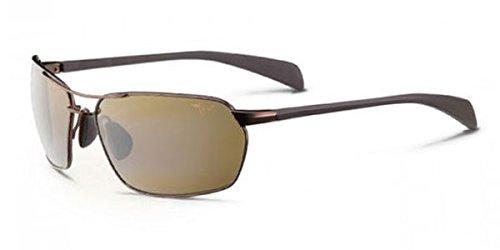 Maui Jim Maliko Gulch Sunglasses, Metallic Gloss Copper/HCL Bronze, One Size ()