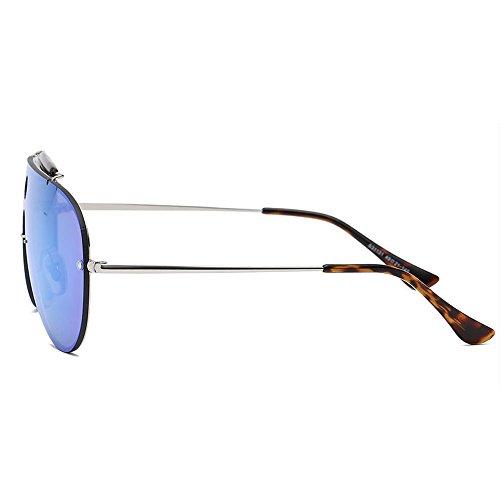 Personalidad Sol Gafas de A Trend Espejo A Gafas Moda de Lente Color Atmósfera Hombres Sol rRqnRIg8