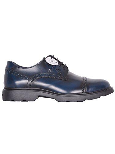 Hogan Zapatos de Cordones Para Hombre Azul Azul It - Marke Größe, Color Azul, Talla 42 IT - Marke Größe 8