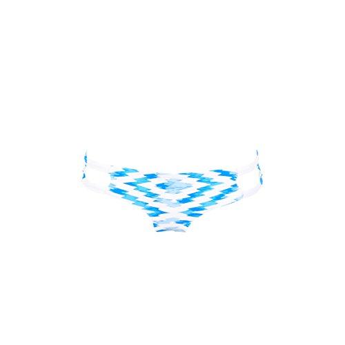 Biquini tanga azul reversible Fregate (braga) Azul