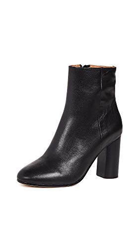 Platforms Lambskin Leather (Joie Women's Lara Booties, Black, 41 M EU)