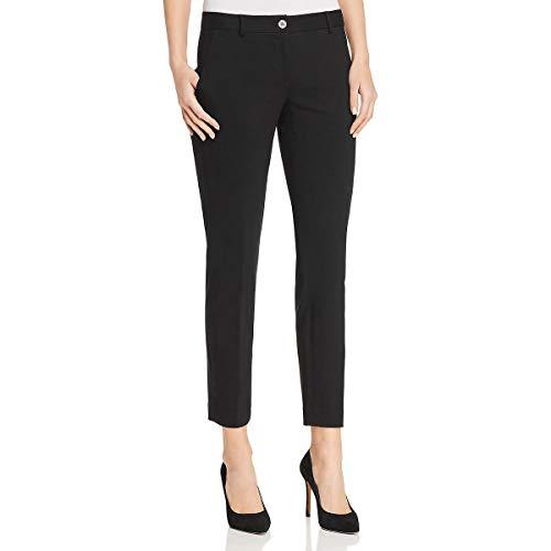 MICHAEL Michael Kors Womens Miranda Slim Leg Ankle Dress Pants Black ()