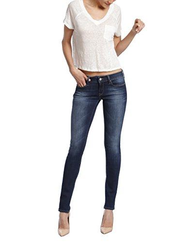 Mavi Jeans Women's Adriana Mid Rise Super Skinny, Indigo Tribeca 26/32