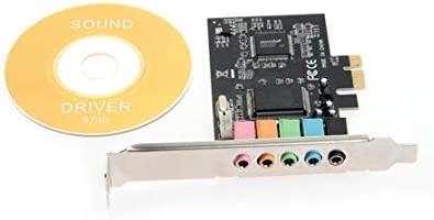 PCI-E PCI Express 6 Canales 5.1 CMI8738 Tarjeta de Sonido de ...