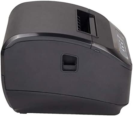 Xprinter XP-Q200ii- Impresora Térmica de Recibos y Billetes (300mm/s, 58Mm, 80Mm, ESC/POS, para POS Terminal Punto de Venta), Negro (LAN ...