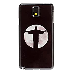 TOPAA Jesus at Night Decal Pattern Plastic Hard Back Case Cover for Samsung Galaxy Note3 N9000