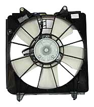 TYC 600970 Honda Civic Replacement Radiator Cooling Fan - Condenser A/c Fan Honda