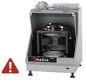 RADIA, 1025 Red D Mix, One Gallon Gyroscopic Paint Mixer, Explosion Proof,  No Timer or Power Cord