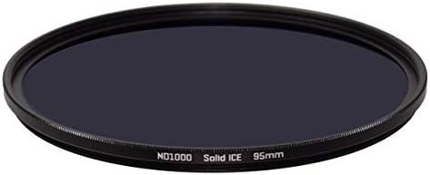 Solid ICE 耐衝撃性 95mm ND1000 フィルター ニュートラルデンシティー ND 10 ストップ強化光学ガラス