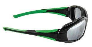 b157e2a00f 3 M Luna Dawg anteojos de seguridad con marco negro y gris lente de  Policarbonato anti