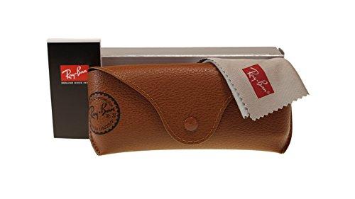 Ray Ban Highstreet Mens Sunglasses RB4147 617187 Top Mat Black On Red 60mm