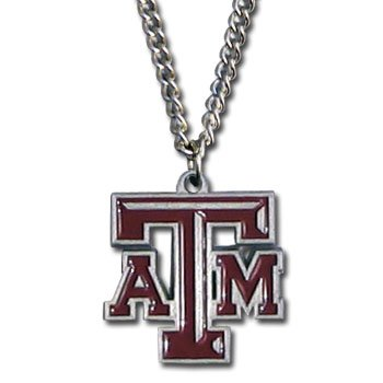Texas A&M Aggies 3-D Logo Pendant - NCAA College Athletics Fan Shop Sports Team Merchandise