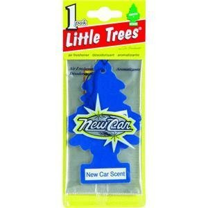- LITTLE TREES Car Air Freshener | Hanging Paper Tree for Home or Car | New Car Scent | Single Tree per Package