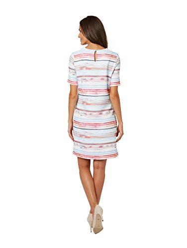 Bonita Streifen mit Kleid Rose Damen Faded rU4OwrxqtZ