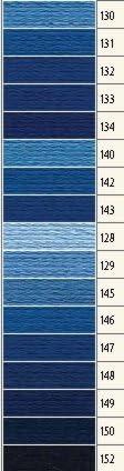 Farbe 142 delft hell 1x Anchor Sticktwist