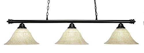 Toltec Lighting 1873BK Round - 54