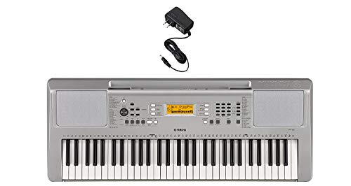 - Yamaha YPT360 61-Key Touch-Sensitive Portable Keyboard with Power Adapter (Amazon-Exclusive)