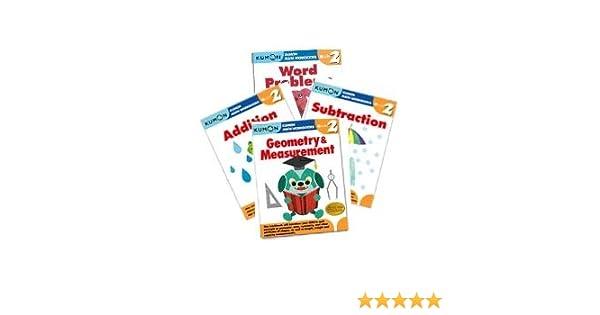 Kumon Grade 2 Math workbooks (4 books) - Addition, Subtraction ...
