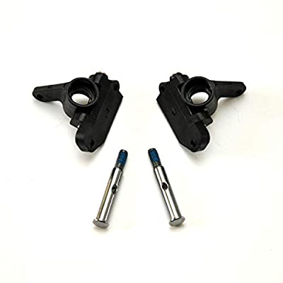 KELLEY'S RC Pair of Traxxas Steering and Caster Blocks with Stub Axles -Pre-Assembled- for 2WD Slash Stampede Rustler or Bandit: Toys & Games