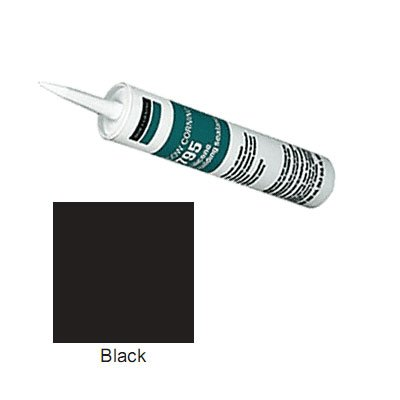Black Dow Corning 795 Silicone Building Sealant - 12 Tubes (Case) by Corning