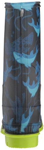 Kamik Boys' STOMP2/KIDS/CHA/4725 Rain Boot, Blue, 4 M US Big Kid by Kamik (Image #2)